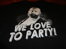 "THE HANGOVER ""WE LOVE TO PARTY"" Ripple Junction T SHIRT SIZE MENS LARGE  F4"