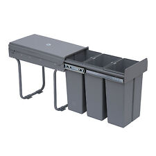 Recycle Waste Bin 30L Sorter Recycling Pull Out & Soft Close