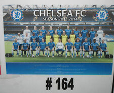 Chelsea FC Team Poster 2013/2014   (#164)  Brand New - rolled in tube