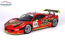 BBR Ferrari 458 Italia GT3 1/18 P1844 - Limited 150 pcs