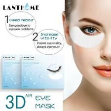 60Pcs Pack Gold Hydrogel Eye Patch Firming Eye Cover Collagen Gel Under Eye Pads