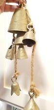 Vintage Lebanese Camel Bells Hand Carved Brass