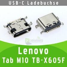 ✅ Lenovo Tab M10 TB-X605F Micro USB-C Buchse Ladebuchse Socket Connector Port