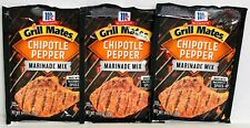McCormick Grill Mates Chipotle Pepper Marinade Mix 1.13 oz(3 Pack)