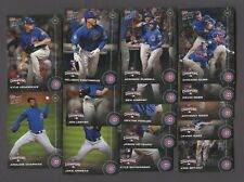 2016 TOPPS NOW CHICAGO CUBS WORLD SERIES TEAM SET #WS 1-15