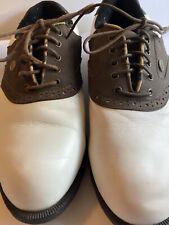 Niblick Faux Leather Golf Shoes Size 8 Men's