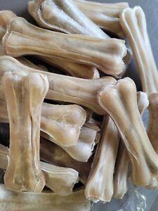 "10 x 4"" Pressed Rawhide Bone"
