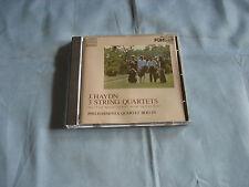 Joseph Haydn 3 String Quartets Philharmonia Berlino Giappone DENON 38c37-7094 MFSL