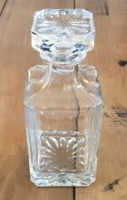 26 oz. Square Glass Whiskey Spirits Decanter & Bottle Stopper