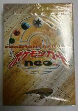 Pokémon Japanese Neo Genesis sealed starter Booster Pack deck random Rare Lugia?