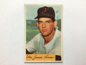 1954 Bowman #101 Don Larsen Rookie Card RC