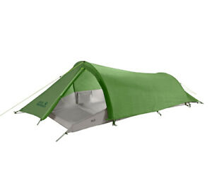 Gossamer 1 Person Tunnel Tent Jack Wolfskin/Esee Dengue Backpacking Ultralight