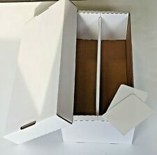 3X BCW Shoe Storage Box 1,600 CT. Holds over 300 3x4 toploads