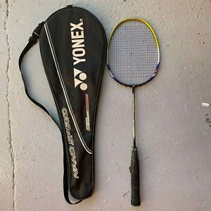 Yonex Nanospeed 9000 Badminton Racket High Modulus Graphite+Fullerene