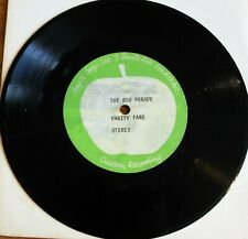 VANITY FARE The Big Parade APPLE CORPS Rare ACETATE 1-Sided VG 1971