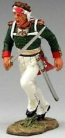 KING & COUNTRY THE AGE OF NAPOLEON NA147 WOUNDED RUSSIAN OFFICER ADVANCING MIB