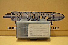 9mm /.380 PLASTIC STORAGE AMMO BOXES ( SMOKE ) BERRY'S MFG (BUY 3 GET 1 FREE)
