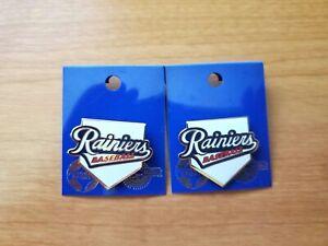 (2) New Vintage Tacoma Rainiers AAA Minor League Baseball Team Lapel Pins