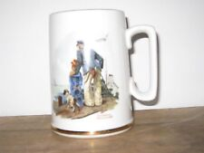 "Norman Rockwell Nautical Mug ""Looking Out To Sea"""