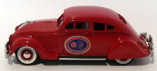 Durham Classics 1/43 Scale DCJ01 - 1934 Chrysler Airflow - Red 1 Of 250