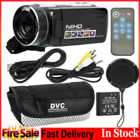 1080P 3in LCD 18X Digital Zoom 24MP Night Vision Video Camera Camcorder Recorder