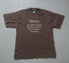 T-Shirt Größe L zum 50. Geburtstag - Oldtimer Kein Rost, Top Zustand braun