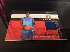 Topps 2003 Jarvis Hayes Player Worn Shooting Shirt Draft Basketbal Card PR-JH