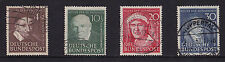 Alemania - 1951 ayuda humanitaria-Fine Used-Sg 1069-72