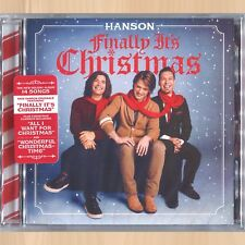 hanson finally its christmas cd joy to the mountain all i want for christmas