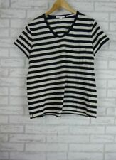Country Road Cap Sleeve Striped Tops for Women