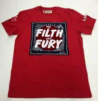 Iro-Ochi Filth And Fury Red Mens Sample T-shirt Size Large Nice New Rare 1 Of 1