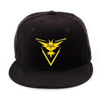 Mens Womens Baseball Cap Flat Peak Snapback Hat Hip Hop Adjustable Sport Sun Hat