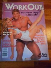 Rare WORKOUT FOR FITNESS muscle PREMIERE magazine MIKE MENTZER publisher 12-84