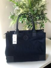 New Tory Burch Ella Packable Nylon Leather Tote