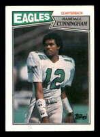 Randall Cunningham Rookie Card 1987 Topps #296