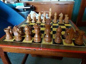 Smart Vintage Wooden Chess Set