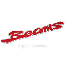 JDM Toyota 00-05 Lexus IS300 Altezza Beams Engine Emblem Red Genuine Part OEM