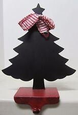 Cast Iron Base Stocking Hanger/Chalk Board Holder Christmas Tree Mud Pie