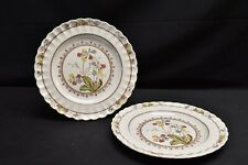 Spode Cowslip Pair of Dinner Plates