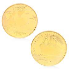 Voyage Of Titanic RMS Sailing Routes Commemorative Challenge Coins Souvenir Gift