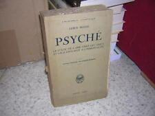 1928.Psyché / Rohde.ame chez Grecs.immortalité.bon ex
