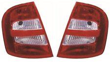 Skoda Fabia 2000-2004 Hatchback Rear Tail Light Lamp Pair Left & Right