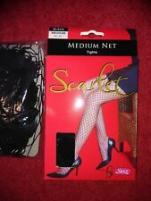 """2 Pairs of Black Fishnet Tights 36"""" - 42"""""""