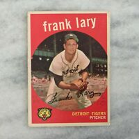 1959 Topps Frank Lary #393 Detroit Tigers