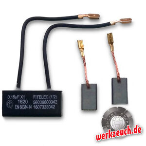 Kondensator Kohlebürsten Hilti DC125 S AG125-S AG125-SE 244172