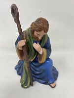 Thomas Kinkade Hawthorne Village Nativity Figurine Replacement Father Joseph