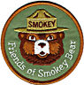 ⫸ Official FRIENDS OF SMOKEY BEAR Embroidered Patch NEW - International Shipment