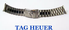 S/Steel TAG HEUER Watch Bracelet BA0308 for WK1111 Model* 20 mm EXLNT Condition