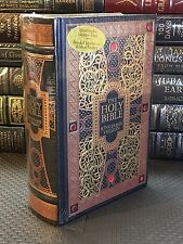 THE HOLY BIBLE King James Version GUSTAVE GORE ILLUSTRATED Leather NEW SEALED