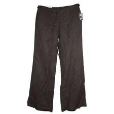 Wide Leg Linen Dress Pants for Women